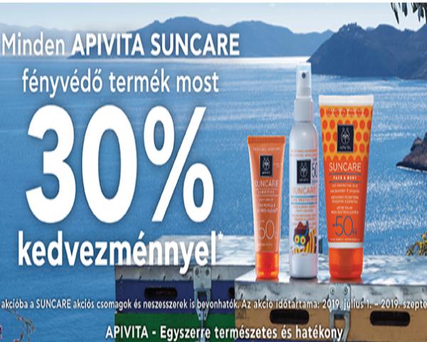 APIVITA SUNCARE fényvédő termékek