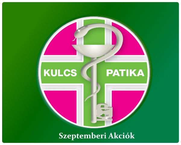 Kulcs Patika 2019 Szeptemberi Akció