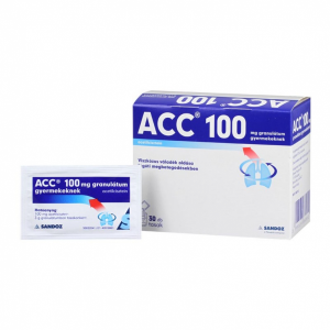 ACC 100 mg granulátum gyermekeknek - 30x3g