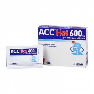 ACC Hot 600 mg por belsõleges oldathoz - 10x