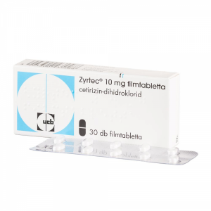 Zyrtec 10 mg filmtabletta - 30x