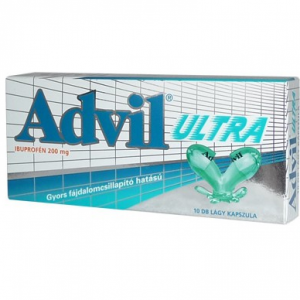 Advil Ultra lágy kapszula - 10x