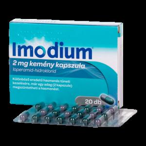 Imodium 2 mg kemény kapszula - 20x