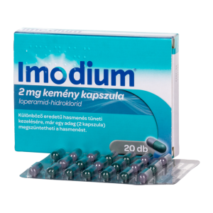 Imodium 2 mg kemény kapszula - 8x