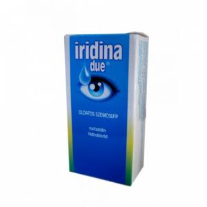 Iridina Due oldatos szemcsepp - 1x10ml