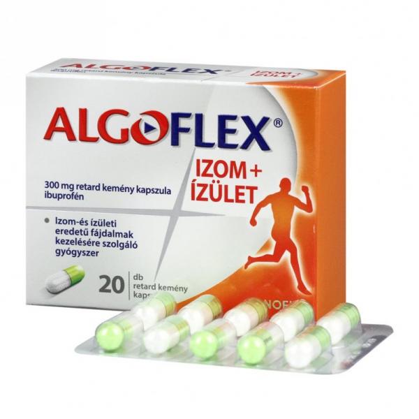 Algoflex Izom+Ízület 300 mg retard kemény kapszula - 20x