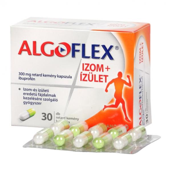 Algoflex Izom+Ízület 300 mg retard kemény kapszula - 30x