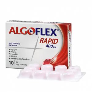 Algoflex Rapid 400 mg lágy kapszula  - 10x