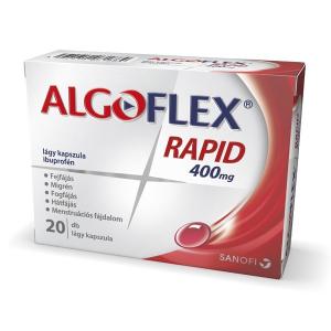 Algoflex Rapid 400 mg lágy kapszula  - 20x