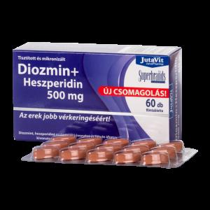 JutaVit Diozmin+Heszperidin 500 mg tabletta - 60x