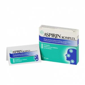 Aspirin Komplex 500 mg/30 mg granulát.bels.szuszp. - 10x