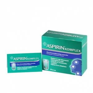 Aspirin Komplex 500 mg/30 mg granulát.bels.szuszp. - 20x