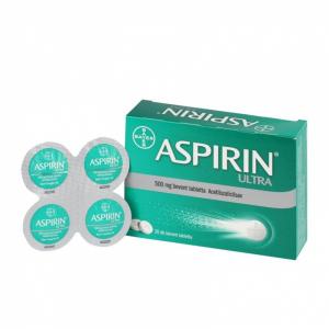 Aspirin Ultra 500 mg bevont tabletta  - 20x