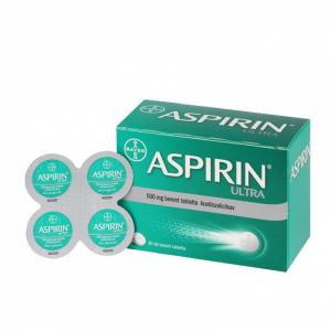 Aspirin Ultra 500 mg bevont tabletta  - 40x