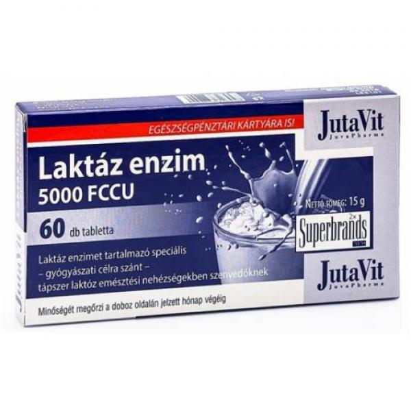 JutaVit Laktáz enzim tabletta - 60x