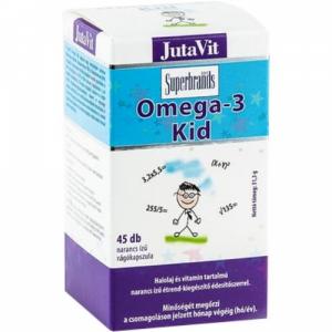 JutaVit Omega-3 Kid rágókapszula - 45x