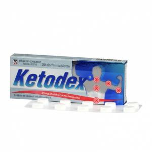 Ketodex 25 mg filmtabletta - 20x