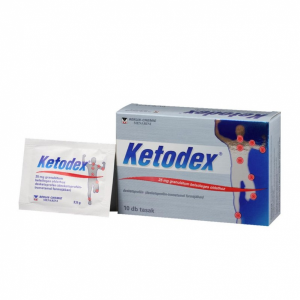 Ketodex 25 mg granulátum belsõleges oldathoz - 10x tasak