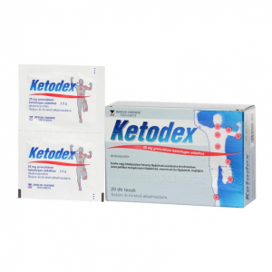 Ketodex 25 mg granulátum belsõleges oldathoz - 20x tasak