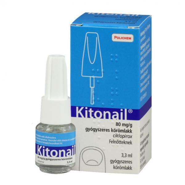 Kitonail 80 mg/g gyógyszeres körömlakk - 3,3ml