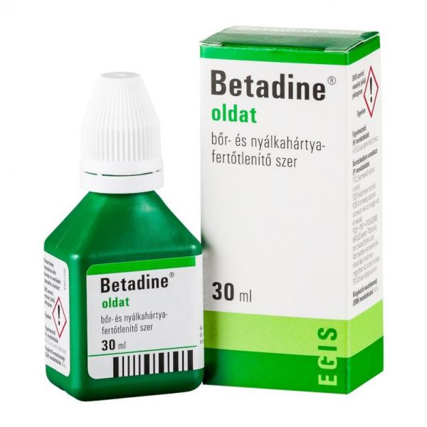 Betadine oldat (ÁFA 5%-ÚJ) - 30ml