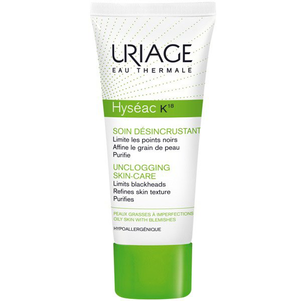 Uriage Hyséac K18 krém mitesszeres, zsíros bõrre - 40ml