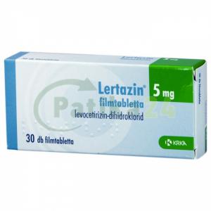 Lertazin 5 mg filmtabletta - 30x