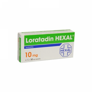 Loratadin HEXAL 10 mg tabletta - 30x