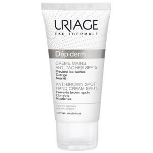 Uriage Depiderm kézkrém SPF15 barna foltok ellen - 50ml