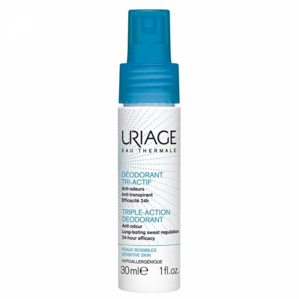 Uriage Déodorant Tri-Activ izzadásgátló spray pump - 30ml