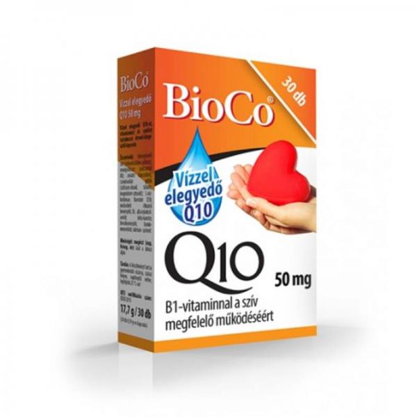 BioCo Q10 50 mg vízoldékony kapszula - 30x