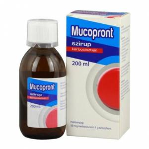 Mucopront szirup - 1x200ml