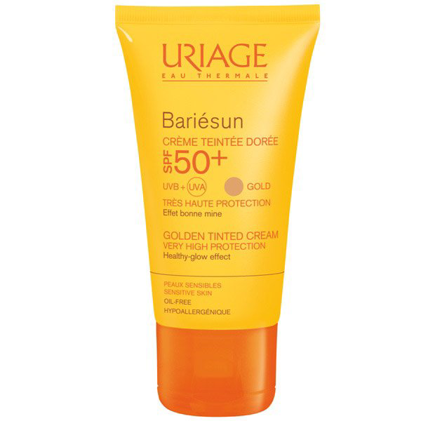Uriage Bariésun színezett arckrém (sötét) SPF 50+ - 50ml