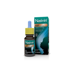 Nasivin Kids 0,25 mg/ml oldatos orrcsepp - 1x10ml