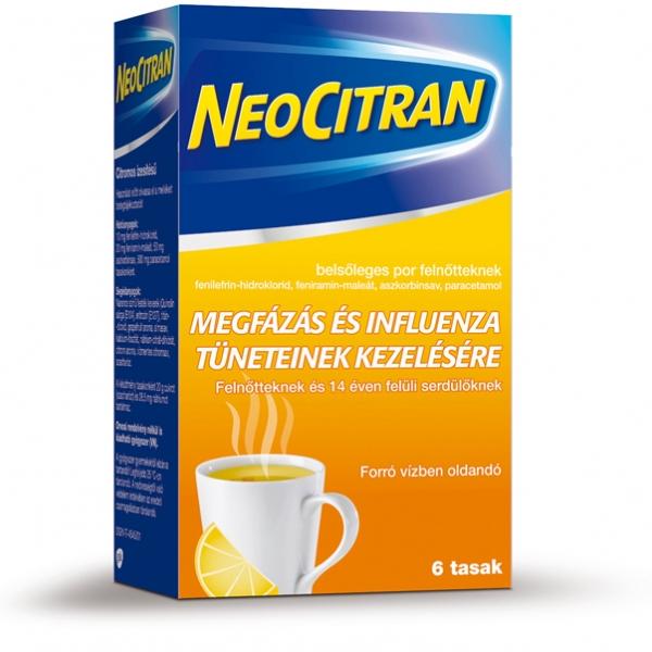 Neo Citran belsõleges por felnõtteknek - 6x