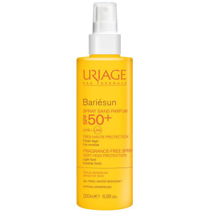 Uriage Bariésun illatmentes spray SPF 50+ - 200ml