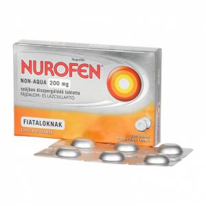 Nurofen Non-Aqua 200mg szájban diszperg.tabletta - 12x