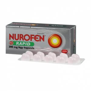 Nurofen Rapid 200 mg lágy kapszula - 20x PVC/Al