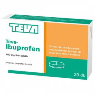 Teva-Ibuprofen 400 mg filmtabletta - 20x