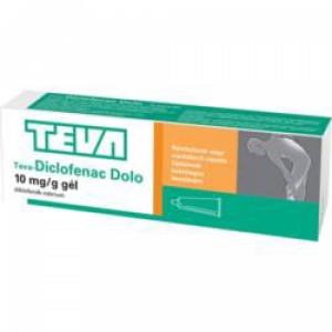 Teva-Diclofenac Dolo 10 mg/g gél - 40g