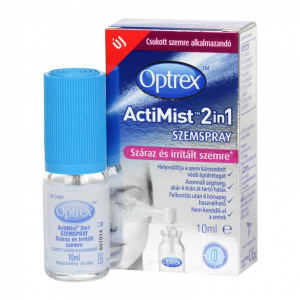 Optrex Actimist 2in1 szemspray száraz+irritált sz - 10ml