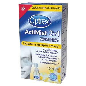 Optrex Actimist 2in1 szemspray viszketõ+könnyezõ   - 10ml