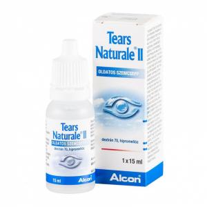 Tears Naturale II. oldatos szemcsepp - 15ml