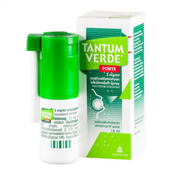 Tantum Verde Forte 3 mg/ml szájnyálkah.alk.spray - 15ml