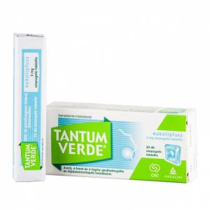 Tantum Verde eukaliptusz 3 mg szopogató tabletta - 20x trilam