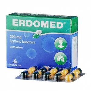 Erdomed  300 mg kemény kapszula - 10x
