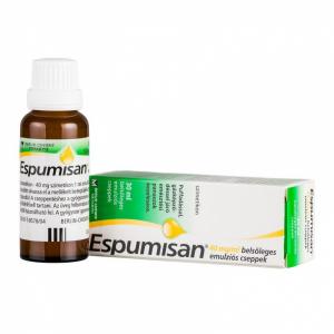 Espumisan 100 mg/ml belsõleges emulziós cseppek - 1x30ml