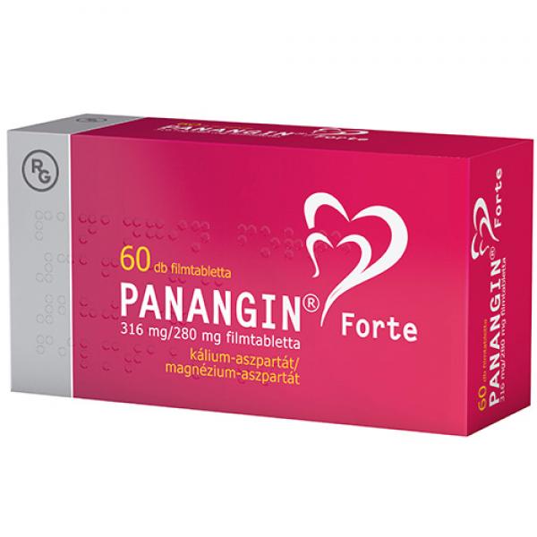 Panangin Forte 316 mg/280 mg filmtabletta - 60x