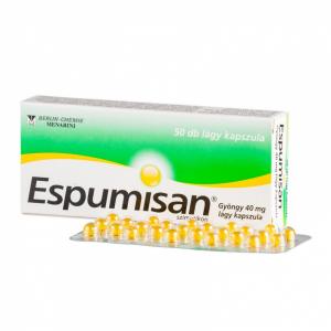 Espumisan Gyöngy 40 mg lágy kapszula - 50x
