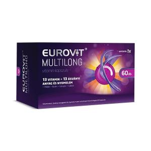 Eurovit Multilong vitamin kapszula - 60x